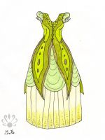 Enchanted jungle gown by Pearllight180