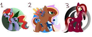 Pegasi Adopts (CLOSED) by FallenFateAdopts