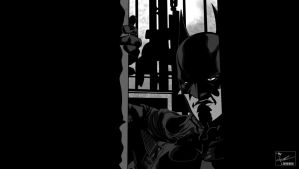 Batman: Arkham Origins (Zip Toned) by frostdusk