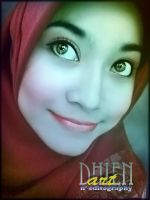 ..My Face.. by DinniDhien