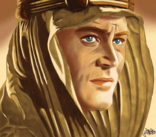 Lawrence of Arabia by Al-Muhajir