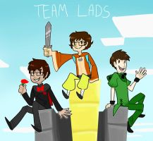 Team Lads by EllaMRed