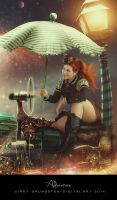Steampunk girl by CindysArt