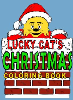 Lucky Cat Christmas by tvcrazyman