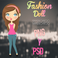 Fashion DOLL by Pamelalove100