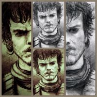 Theon Greyjoy Collage by Zuza22