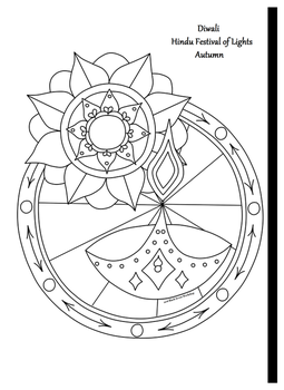 Coloring Page Diwali 2016 by Black-Arrow-Workshop