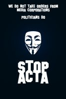 STOP ACTA by ManePL