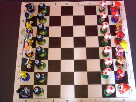 Super Mario Chess 1 by DJN001Fizzman