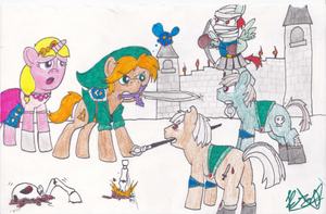 The Legend of Zelda: Ocarina of PONIES by TurboBrycerox