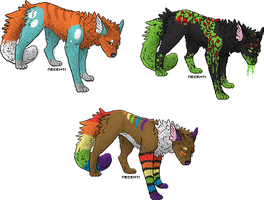 wolf theme adopts by BrokenLawnchair
