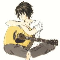 L with a Guitar by CielDeSonges
