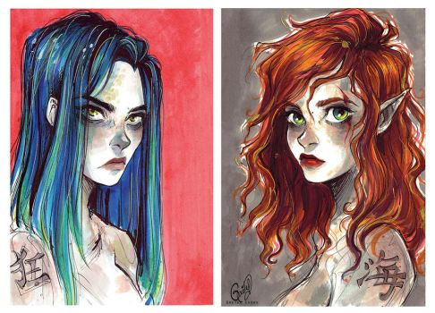 Witches by Gretlusky