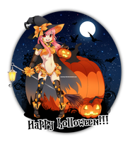 Happy sexy Halloween!!! by NaMy-BoT