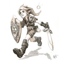 Link sketch by WesTalbott