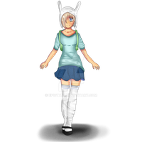 Adventure Time-Fionna by EpicTaxi