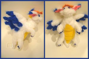 Secret of Mana: Flammie Plush by VesteNotus