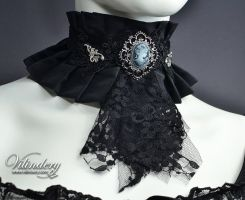 Gothic Victorian Choker by vilindery