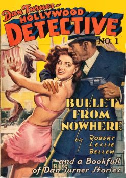 HOLLYWOOD DETECTIVE cover art by peterpulp