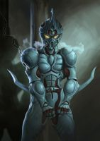 Guyver by JulianDeLio