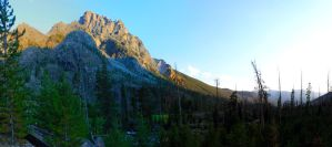 Wind River Range Wyoming by Halcyon1990