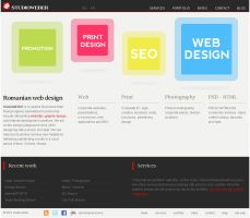New layout for design studio by fluerasa