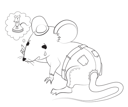 sad mouse by ramrin