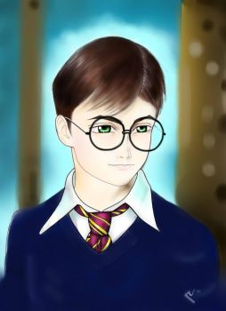 Harry Potter by carvalhooak
