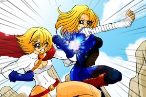 Blond vs. Blond by the-kid36