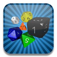 Quick Dice Roller main icon by Ohmnibus