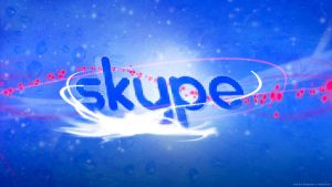 Wallpaper Skype By Sd by sidouxie2014