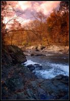 Fall Rapids by WVUARTIST