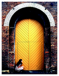 The Yellow Door No. 2 by Rah-They