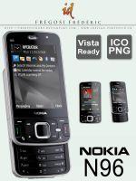 Nokia N96 Icons by fredpsycho83