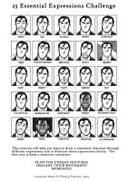30 Expression challenge by fuad-mddin