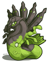 Zygarde by Kayla-Na