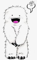Adorable Fuzzy Yeti by Arricia-sama