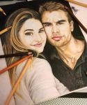 Theo James and Shailene Woodley by thefrenchberet