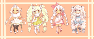 Fluffy Baes Adoptable Auction [closed] by Iyshu