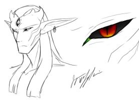 Loe Kanum's Eyes by peanutchan