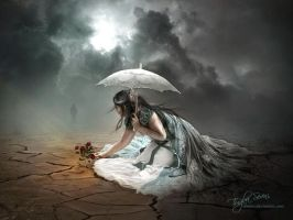 When the darkness fades away by intano