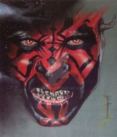 Darth Maul by JohnHaunLE