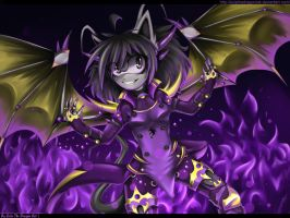 .: Violet fire :. by JuliaTheDragonCat