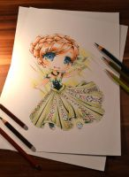 Chibi Princess Anna by Lighane