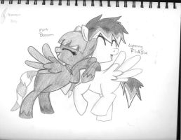 Mint Blossom and Lightning Flash by Anime-is-my-Saviour