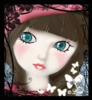 Doll's Eyes by willowgothicprincess