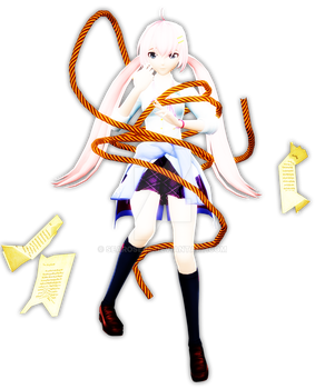 (MMD+MME) Double Lariat by searose04