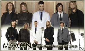 Maroon 5 Golden Boys of POp by vams