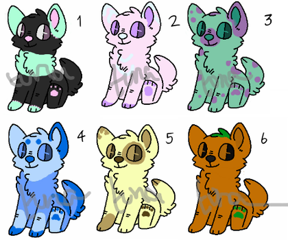 Adopt - Dog Batch [5/6 open!] by adoptuna