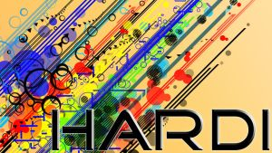 Abstract Hardi Wallpaper by Hardii